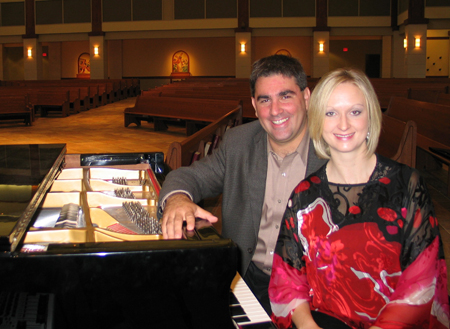 Piano Duo - Javier and Lindsay